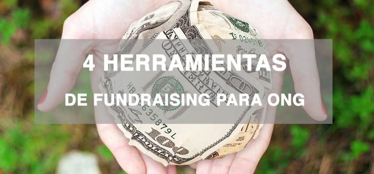 4 herramientas de fundraising para ONG