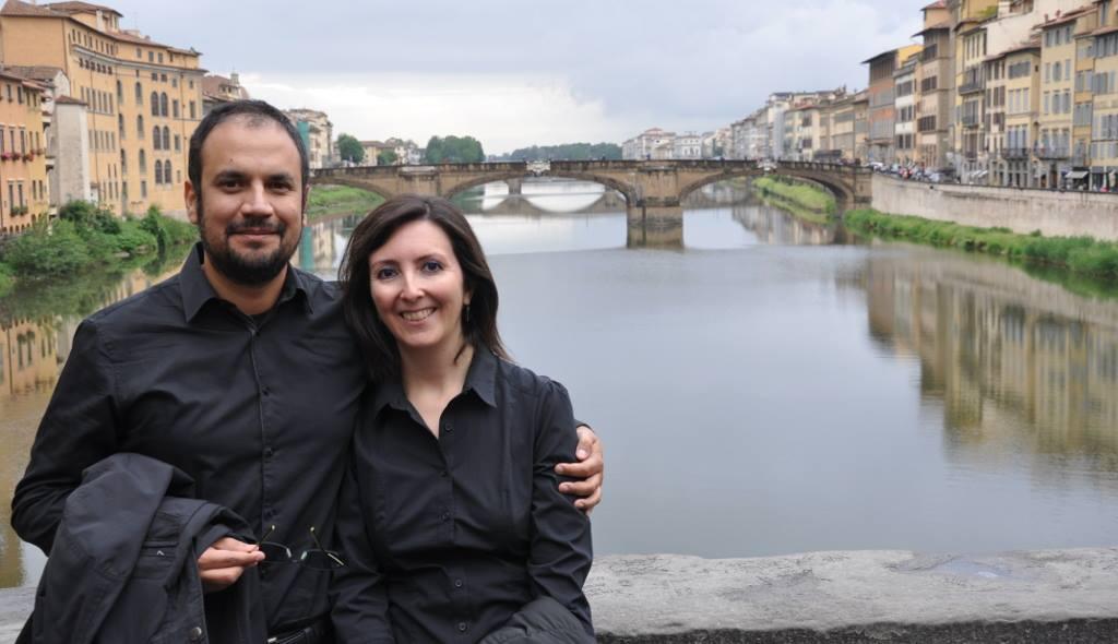 Fabiola Leyton y Carlos Castillo