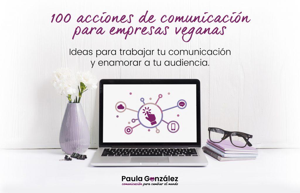 100 acciones de comunicación para empresas veganas