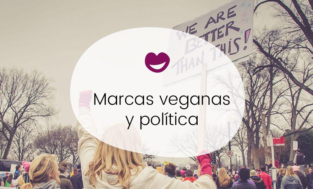 Marcas veganas y política